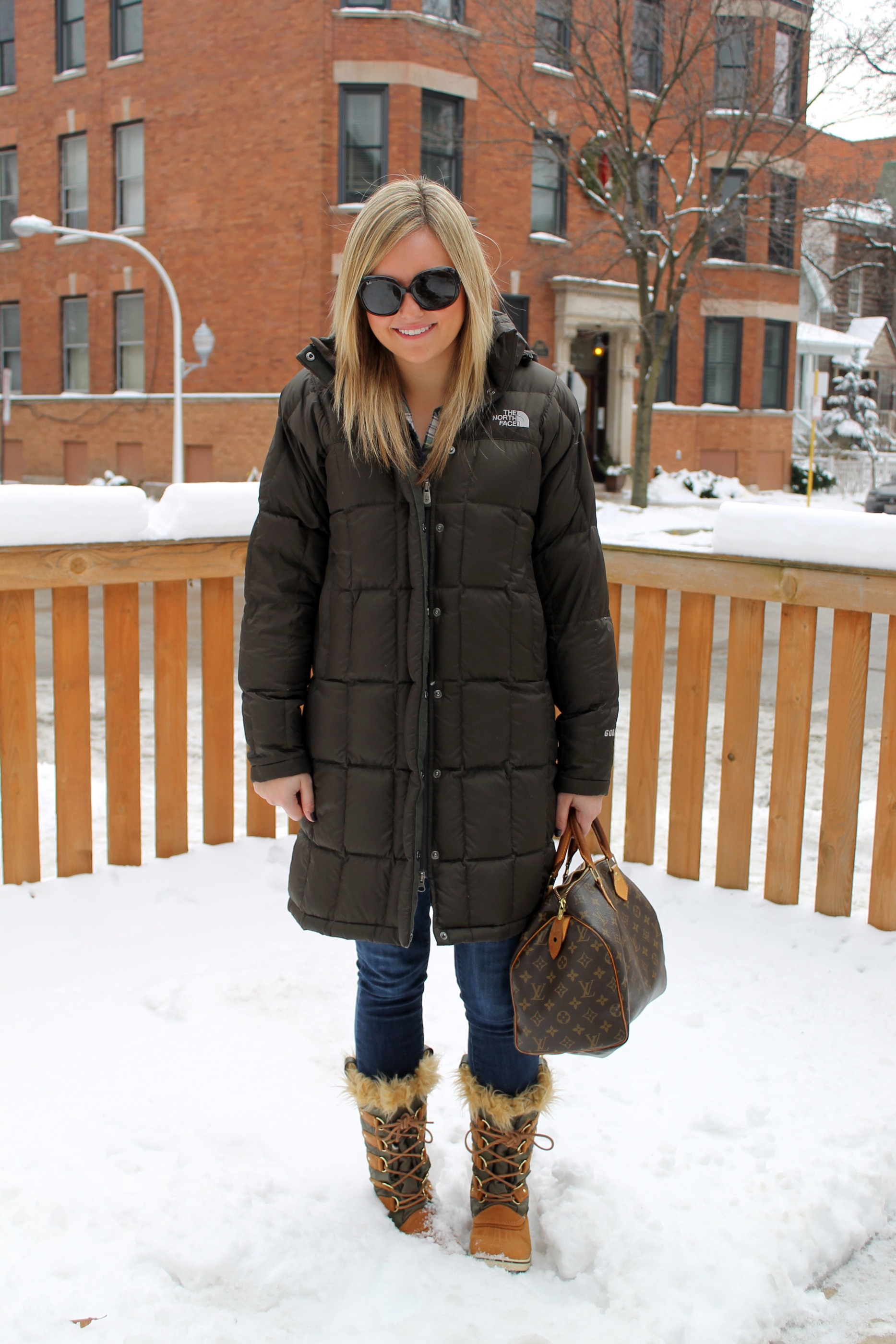 Sorel winter parka